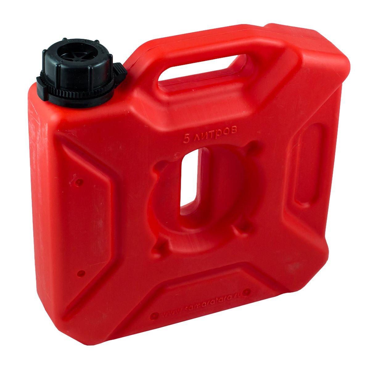 Канистра Экстрим Плюс, цвет: красный, 5 л 50 литровую канистру в спб пластик