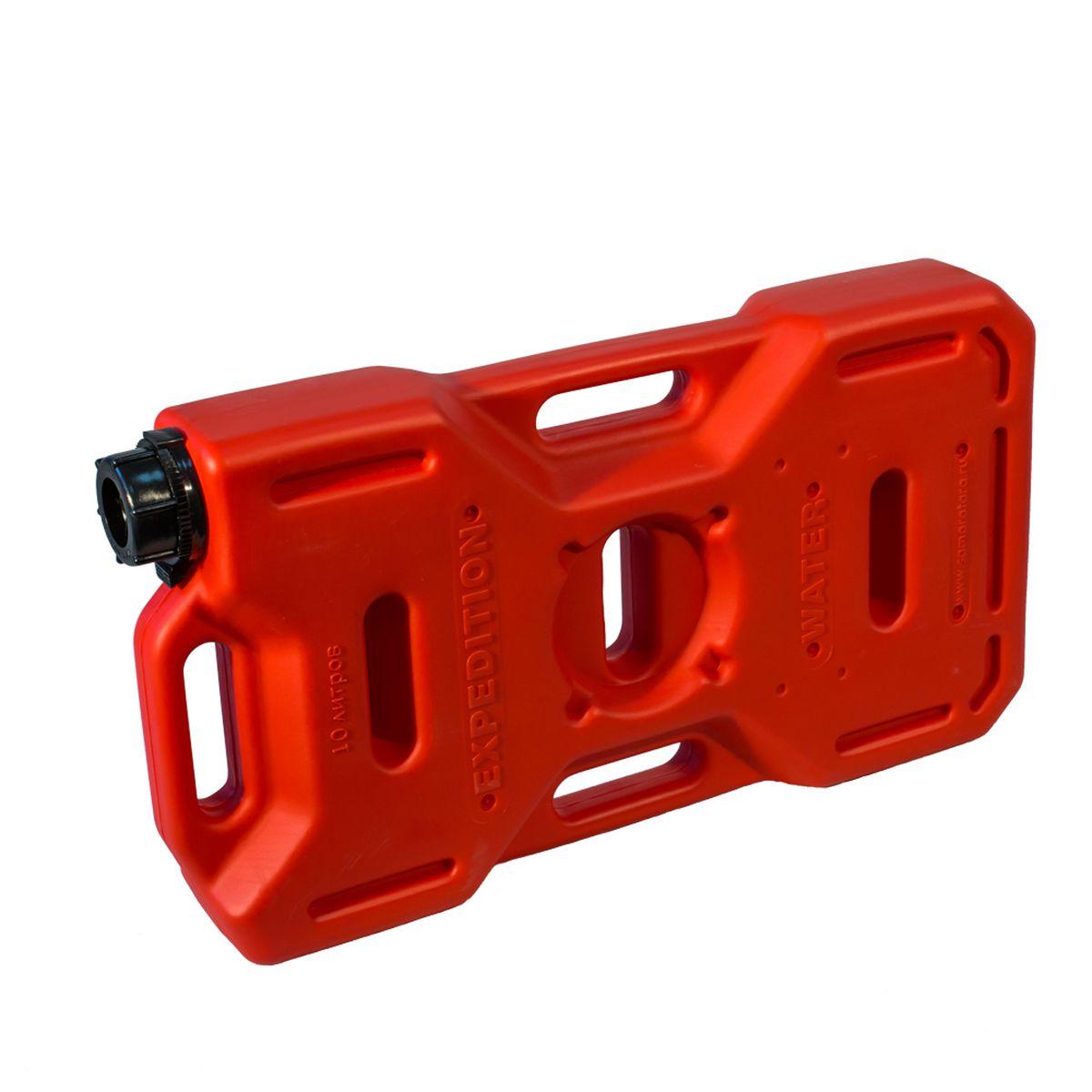 Канистра Экстрим Плюс, цвет: красный, 10 л 50 литровую канистру в спб пластик