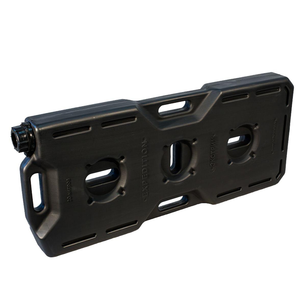 Канистра Экстрим Плюс, цвет: черный, 20 л 50 литровую канистру в спб пластик