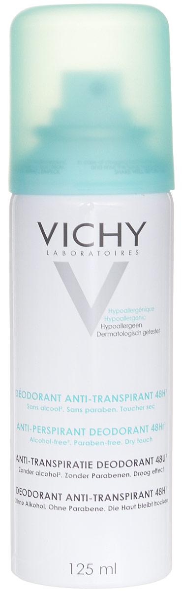 Vichy Дезодорант-аэрозоль, регулирующий избыточное потоотделение 24 часа, 125 мл