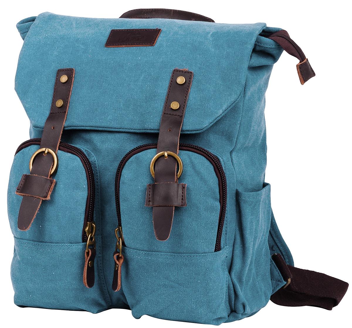 """Рюкзак городской мужской Polar """"Adventure"""", цвет: синий, 12 л. п3788-04 d.blue"""