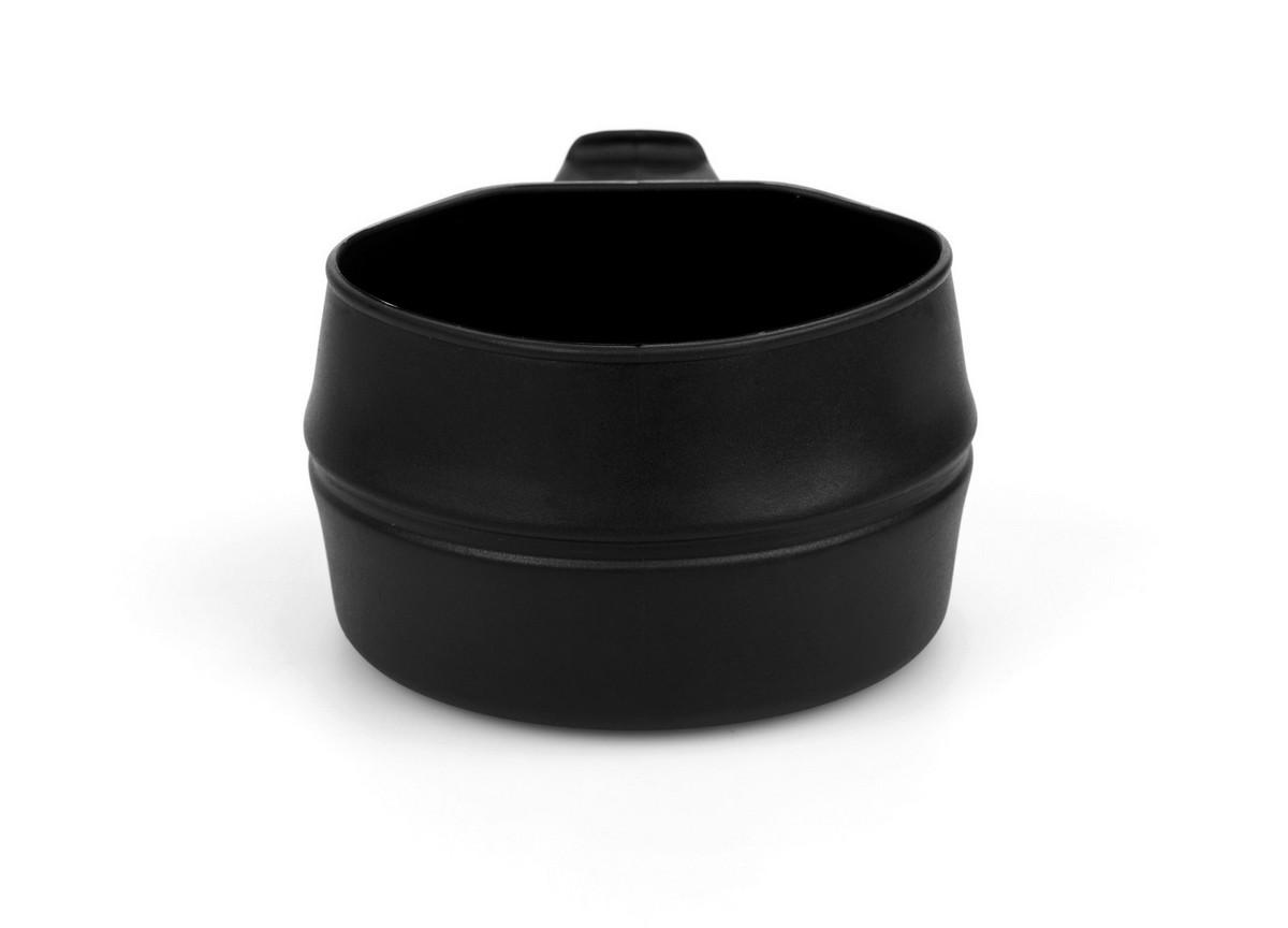 """Кружка складная Wildo """"Fold-a-Cup"""", портативная, цвет: черный, 0,25 л"""