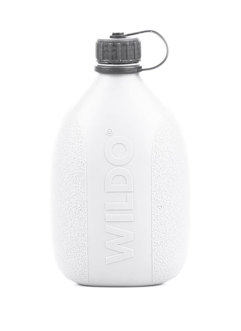 """Фляга Wildo """"Hiker Bottle"""", цвет: белый, серый, 0,7 л"""