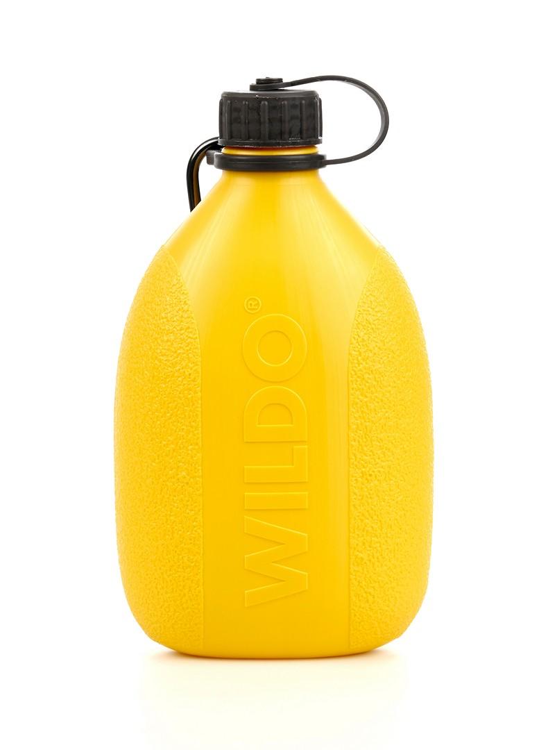 """Фляга Wildo """"Hiker Bottle"""", цвет: лимонный, черный, 0,7 л 4133"""