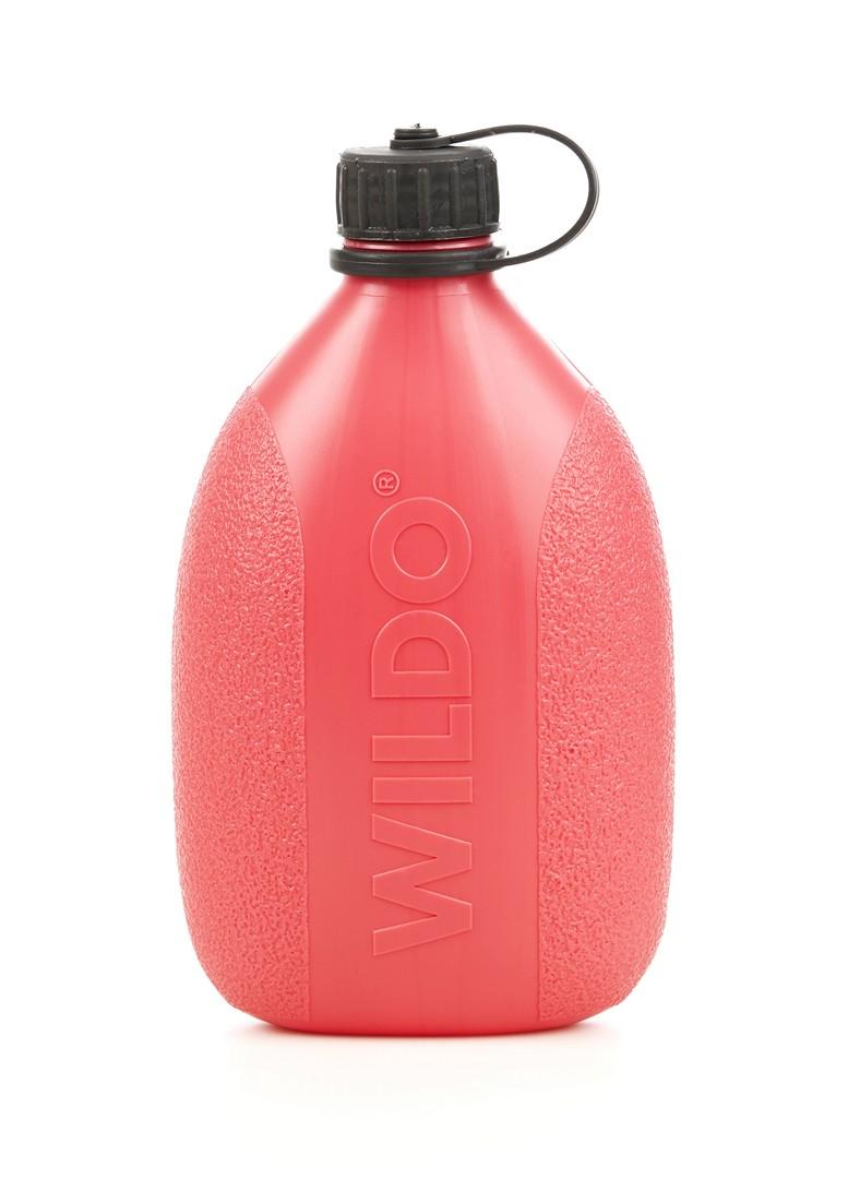 """Фляга Wildo """"Hiker Bottle"""", цвет: розовый, черный, 0,7 л 4167"""