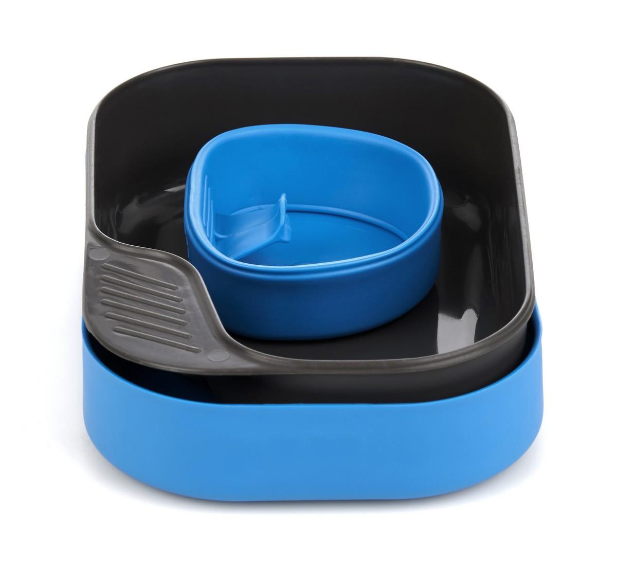 """Набор посуды Wildo """"Camp-a-Box Basic"""", портативный, цвет: светло-синий. W302633"""