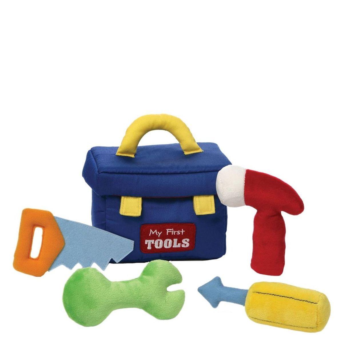 Gund Игровой набор для малышей мягкий My First Toolbox 19 см