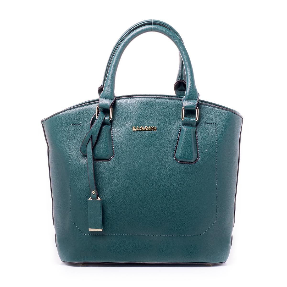Сумка женская Baggini, цвет: темно-зеленый. 29824/5329824/53Загрязнения на изделиях удаляется влажной мягкой тканью