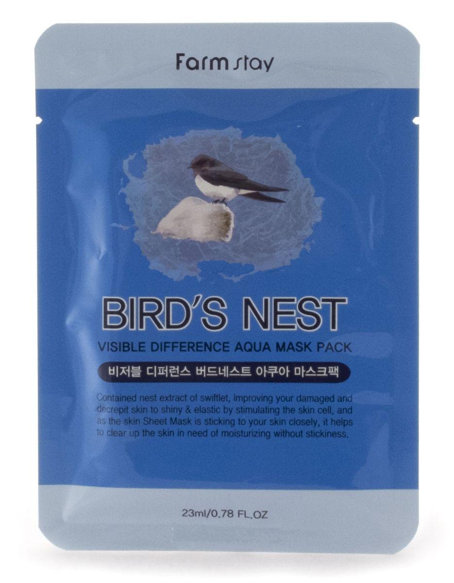 FarmStay Тканевая маска с экстрактом ласточкиного гнезда, 23 мл