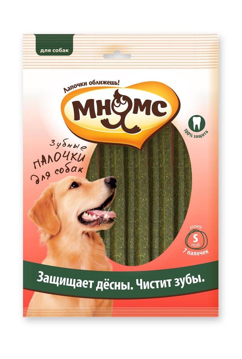 Лакомство для собак Мнямс Зубные палочки, размер S, 7 шт6091Мнямс Звезда-палочка 12 см зеленая 7 шт. в блистере. Низкокалорийное жевательное лакомство для собак - вкусное и здоровое угощение. Содержит мало жиров и богато клетчаткой. Оригинальная форма и текстура помогают чистить зубы собаки от налета. Лакомства МНЯМС изготавливаются только из натуральных компонентов, включая зеленые морские водоросли. Уровень хлорофилла определяет окраску водорослей в природе: чем его больше, тем интенсивнее зеленый цвет. Естественный цвет морских водорослей в составе лакомств МНЯМС определяет цвет конечного продукта, именно поэтому зеленый оттенок снеков может варьироваться. Не содержит искусственных добавок и красителей. Размер лакомства - 12 см. Количество в упаковке - 7 штук. Цвет – зеленый.Белок (22%), жиры и масла (4,5%), клетчатка (3,0%), зола (4,0%), влажность (12,0%).Злаки, мясо и производные животного происхождения (10% курица), сахар, производные растительного происхождения, масла и жиры. Добавки: консерванты и...
