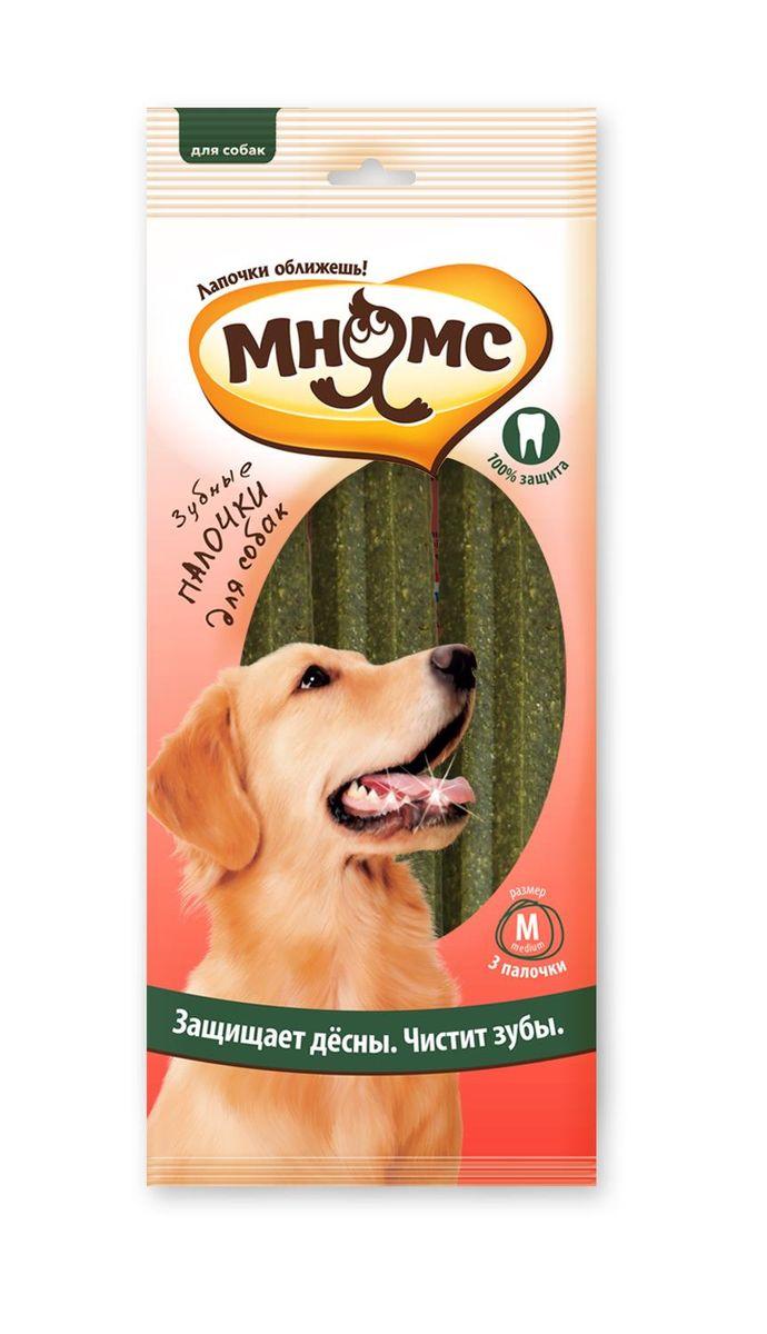 "Лакомство для собак Мнямс ""Зубные палочки"", размер M, 3 шт 6107"