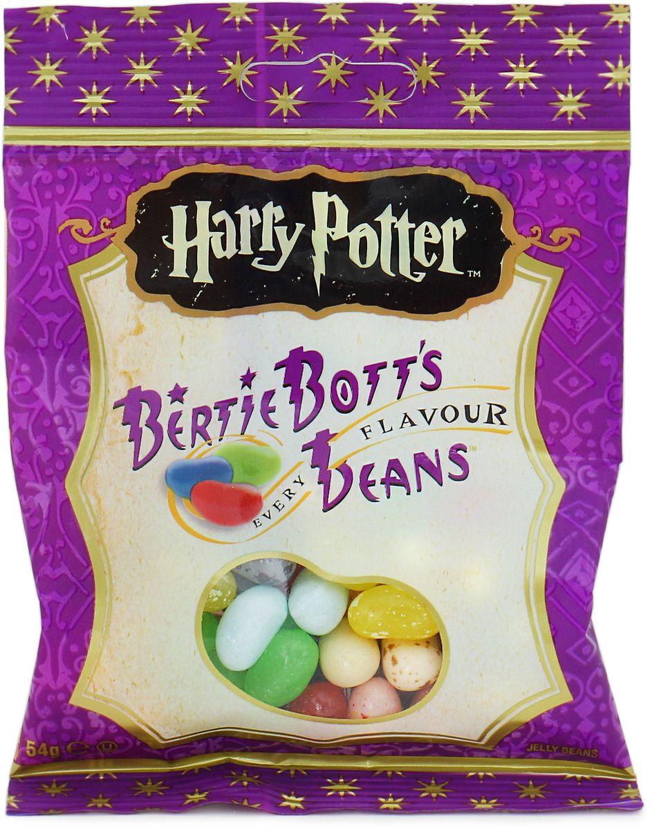 Jelly Belly Bertie Botts драже жевательное ассорти, 54 г7157000615Конфеты Гарри Поттер – Вкусы Bertie Botts. Забавные желейные драже скрывают под цветной оболочкой следующие вкусы конфет Гарри Поттера Берти Боттс: банан, спелая вишня, свежескошенная трава, черный перец, вкус корицы, мыло, сосиска, зеленое яблоко, черника, грязь, лимон, мультифрут, сопли, земляные червяки, рвота, зефир, арбуз, ушная сера, сахарная вата, протухшее яйцо.
