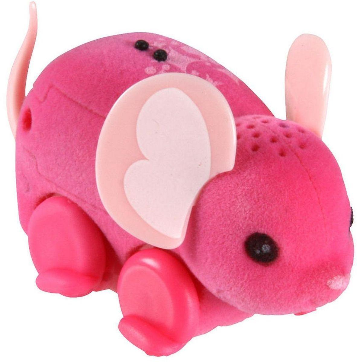 Little Live Pets Интерактивная игрушка Мышка цвет розовый28189/ast28135(28187,28188,28189,28190,28191,28192)Интерактивная игрушка Little Live Pet Мышка изготовлена из высокопрочного пластика, обтянутого флоком. Тело игрушки на ощупь напоминает настоящую шерстку мышонка. Вместо лапок у мышки - колесики. Благодаря колесам мышка легко и быстро передвигается, разворачивается по кругу. Если мышка засыпает, ее нужно погладить по спинке. Там у нее расположен сенсор. Кнопка включения расположена на месте рта. Мышка умеет издавать звуки, похожие на настоящий писк и фырканье. Игрушка развивает внимательность, фантазию и мелкую моторику. Рекомендовано для детей от 5 лет. Для работы требуются 3 батарейки типа AG13 (LR44) (комплектуется демонстрационными).