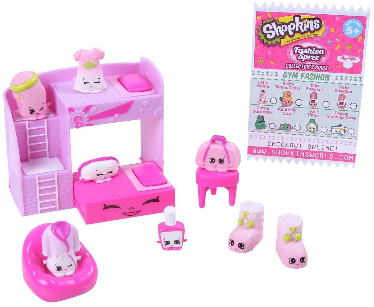 Shopkins Игровой набор Модная лихорадка Slumber Fun  игровые наборы shopkins игровой набор модная лихорадка хранение обуви