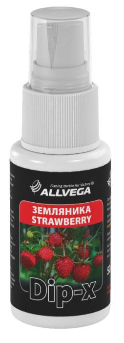 Ароматизатор-спрей Allvega Dip-X Strawberry, 50 мл52636Высококонцентрированный ароматизатор-спрей Allvega Dip-X Strawberry предназначен для быстрой ароматизации различных наживок и приманок, в том числе искусственных. Обладает запахом земляники. Товар сертифицирован.
