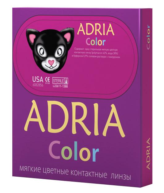 Adria Контактные линзы Сolor 1 tone / 2 шт / -8.50 / 8.6 / 14 / Blue