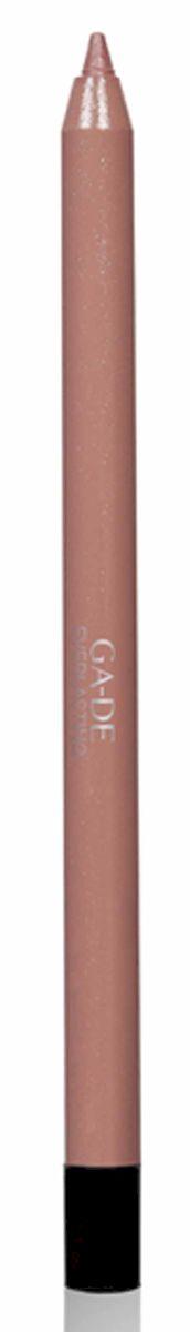 GA-DE Карандаш для губ Everlasting, тон № 83, 0,5 г122500083Плотная силиконовая текстура. Матовые и глянцевые оттенки. Устойчивая формула. Аргановое масло защищает кожу губ и обеспечивает мягкое и комфортное нанесение. Силиконовый карандаш корректирует контур губ. Он проводит чуть матовую линию, заполняет собой морщинки и не дает помаде или блеску растекаться. Хорошо подходят для использования летом и во время отпуска, так как не будет растекаться под воздействием солнца и жары.