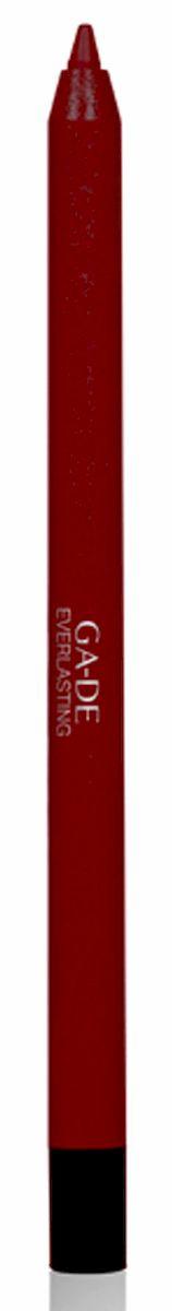 GA-DE Карандаш для губ Everlasting, тон № 95, 0,5 г122500095Плотная силиконовая текстура. Матовые и глянцевые оттенки. Устойчивая формула. Аргановое масло защищает кожу губ и обеспечивает мягкое и комфортное нанесение. Силиконовый карандаш корректирует контур губ. Он проводит чуть матовую линию, заполняет собой морщинки и не дает помаде или блеску растекаться. Хорошо подходят для использования летом и во время отпуска, так как не будет растекаться под воздействием солнца и жары.