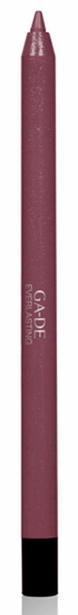 GA-DE Карандаш для губ Everlasting, тон № 96, 0,5 г122500096Плотная силиконовая текстура. Матовые и глянцевые оттенки. Устойчивая формула. Аргановое масло защищает кожу губ и обеспечивает мягкое и комфортное нанесение. Силиконовый карандаш корректирует контур губ. Он проводит чуть матовую линию, заполняет собой морщинки и не дает помаде или блеску растекаться. Хорошо подходят для использования летом и во время отпуска, так как не будет растекаться под воздействием солнца и жары.