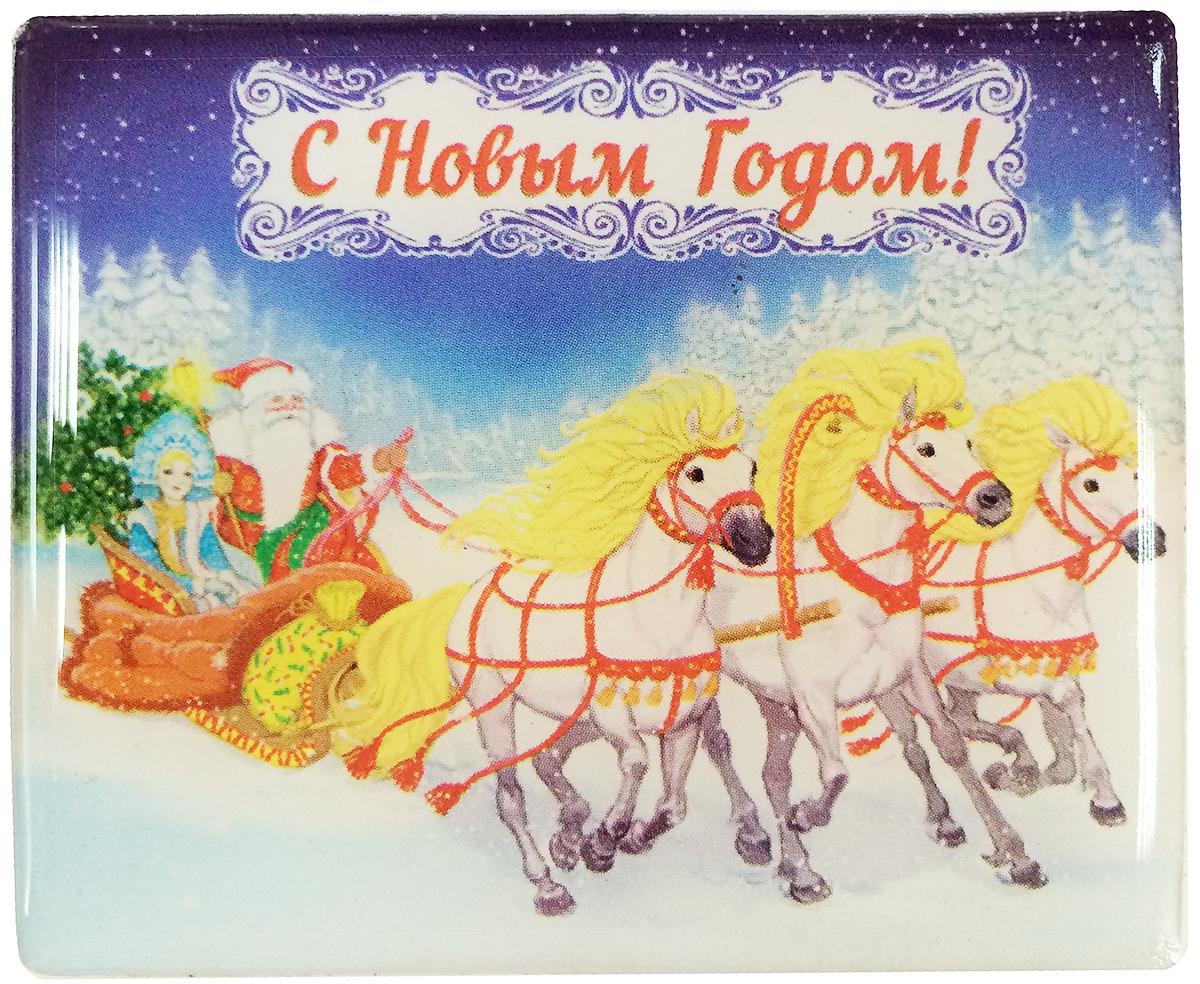 "Магнит декоративный Magic Time ""Тройка"", 6 х 5 см. 38381"