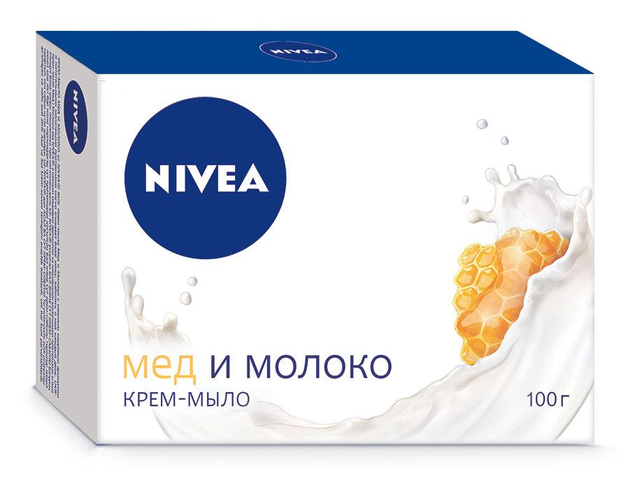 Nivea Крем-мыло Мед и молоко, 100 г