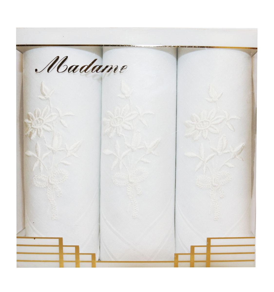 06601-1 Zlata Korunka Носовой платок женский, цвет: мультиколор, 30х30 см, 3 шт06601-1Платки носовые женские в упаковке по 3 шт. Носовые платки изготовлены из 100% хлопка, так как этот материал приятен в использовании, хорошо стирается, не садится, отлично впитывает влагу.