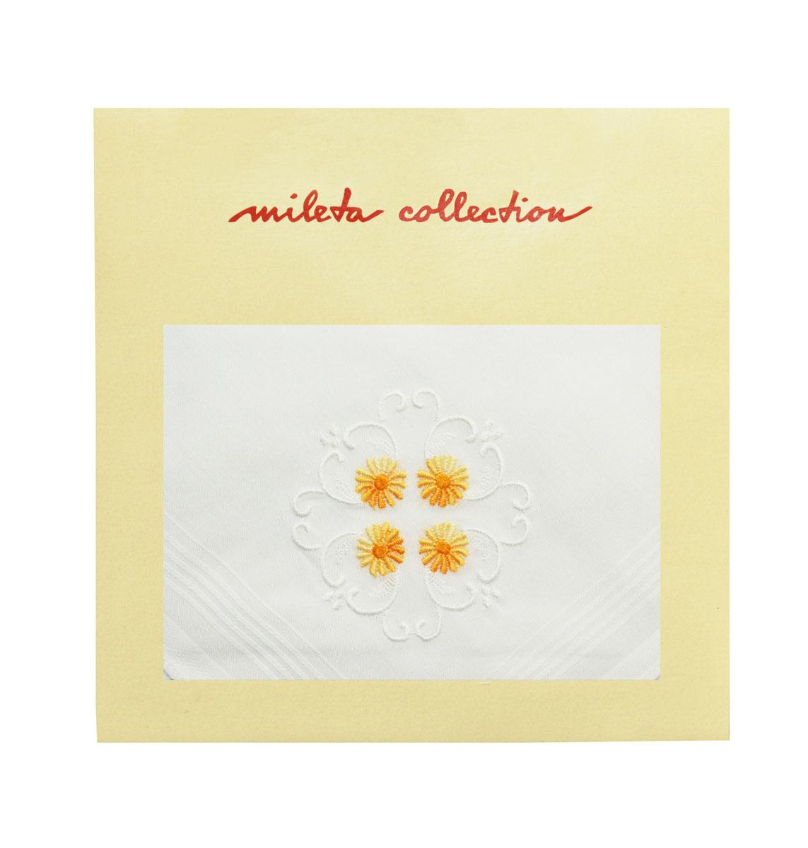 19701-31 Zlata Korunka Носовой платок женский, цвет: мультиколор, 30х30 см19701-31Платки носовые женские в упаковке по 1 шт. Носовые платки изготовлены из 100% хлопка, так как этот материал приятен в использовании, хорошо стирается, не садится, отлично впитывает влагу.