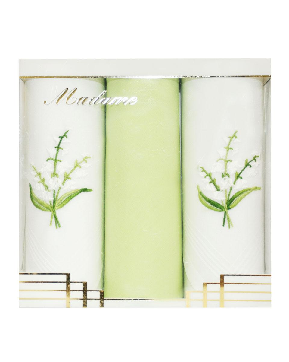 25605-12 Zlata Korunka Носовой платок женский, цвет: мультиколор, 30х30 см, 3 шт25605-12Платки носовые женские в упаковке по 3 шт. Носовые платки изготовлены из 100% хлопка, так как этот материал приятен в использовании, хорошо стирается, не садится, отлично впитывает влагу.