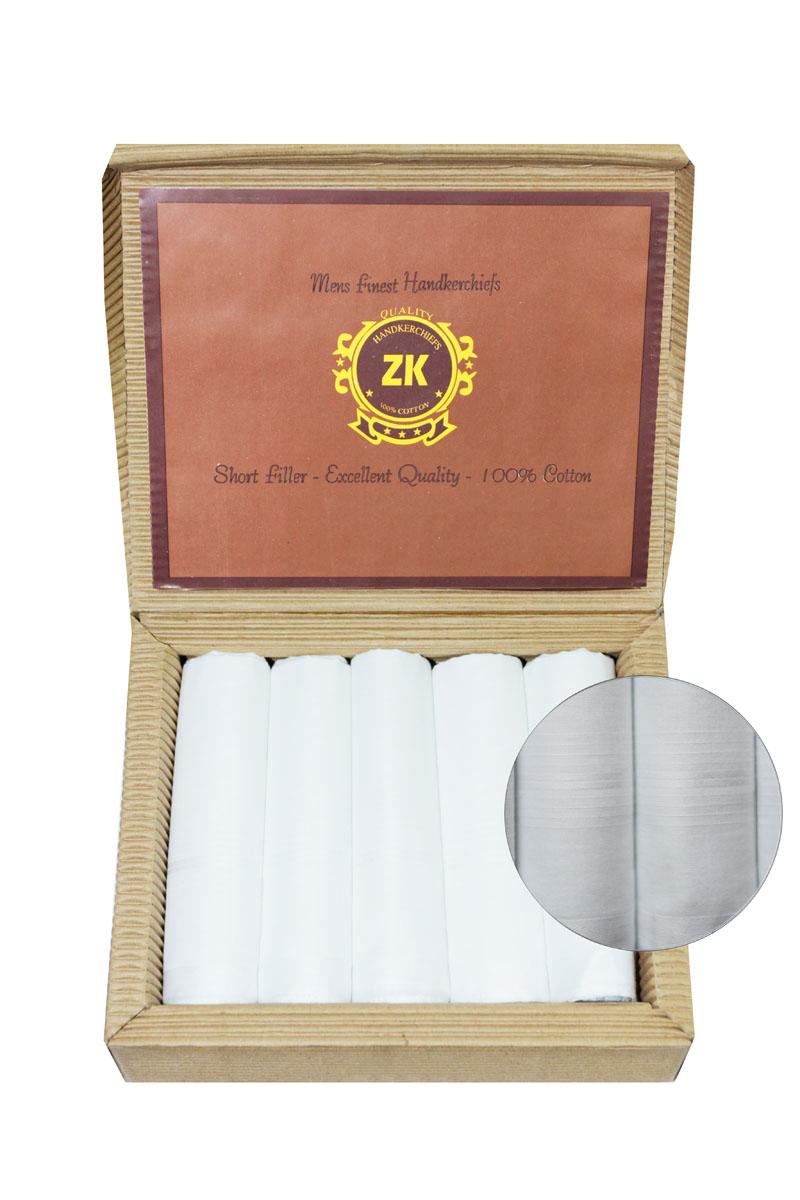 28503-4 Zlata Korunka Носовой платок мужской, цвет: мультиколор, 30х30 см, 5 шт28503-4Платки носовые мужские по 5 шт. в упаковке. Носовые платки изготовлены из 100% хлопка, так как этот материал приятен в использовании, хорошо стирается, не садится, отлично впитывает влагу.