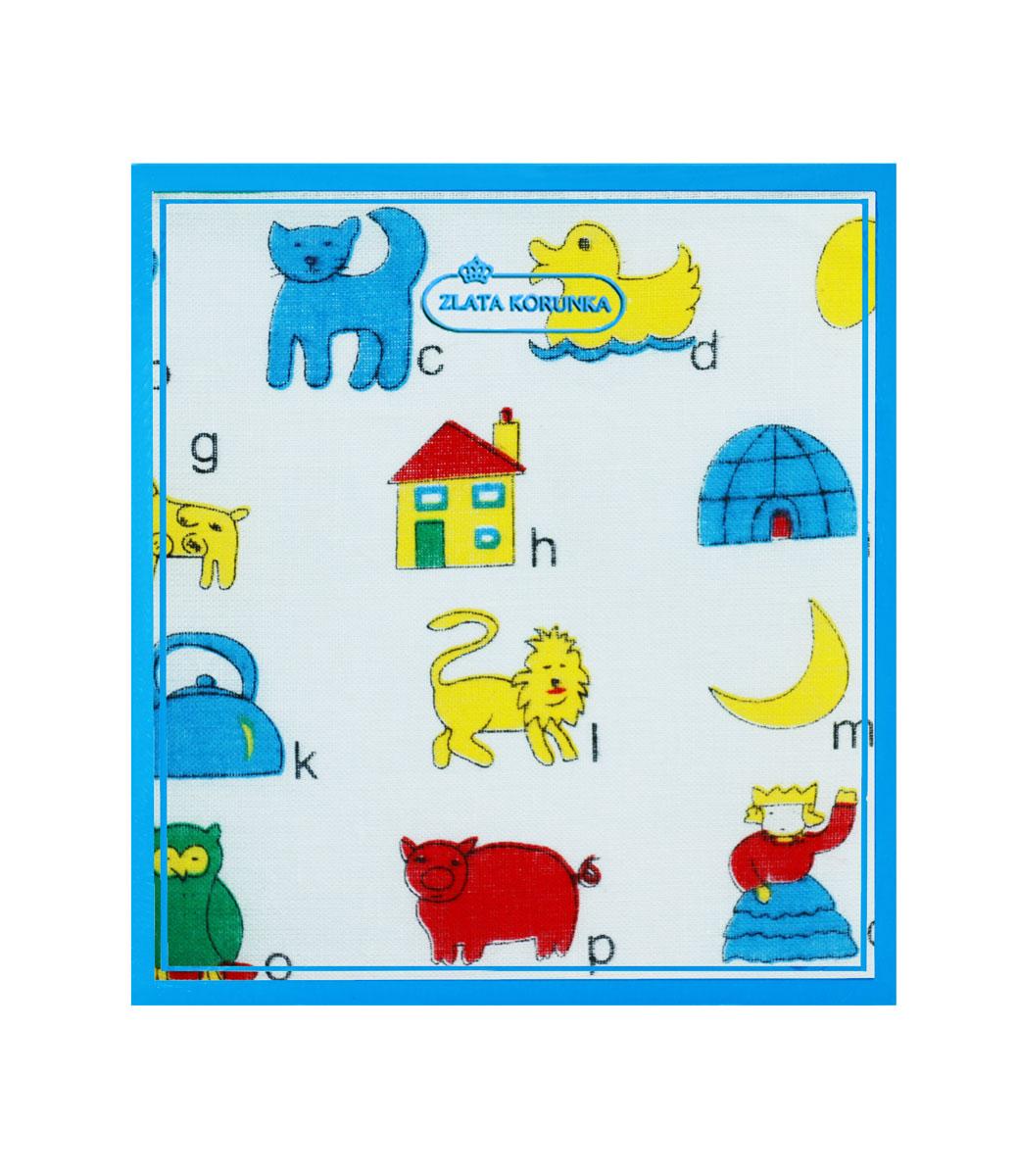 40230-10 Zlata Korunka Носовой платок детский, цвет: мультиколор, 21х21 см, 2 шт40230-10Платки носовые детские в упаковке по 2 шт. Носовые платки изготовлены из 100% хлопка, так как этот материал приятен в использовании, хорошо стирается, не садится, отлично впитывает влагу.