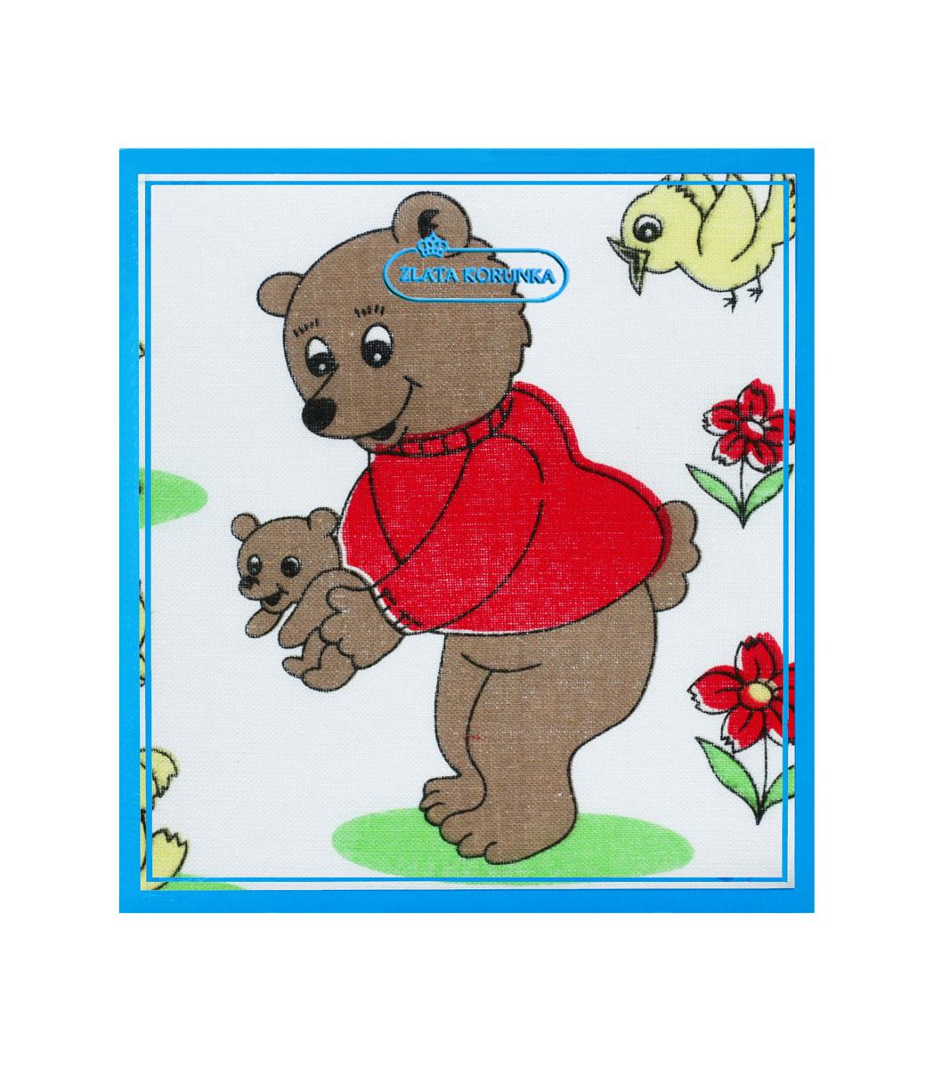 40230-3 Zlata Korunka Носовой платок детский, цвет: мультиколор, 21х21 см, 2 шт40230-3Платки носовые детские в упаковке по 2 шт. Носовые платки изготовлены из 100% хлопка, так как этот материал приятен в использовании, хорошо стирается, не садится, отлично впитывает влагу.