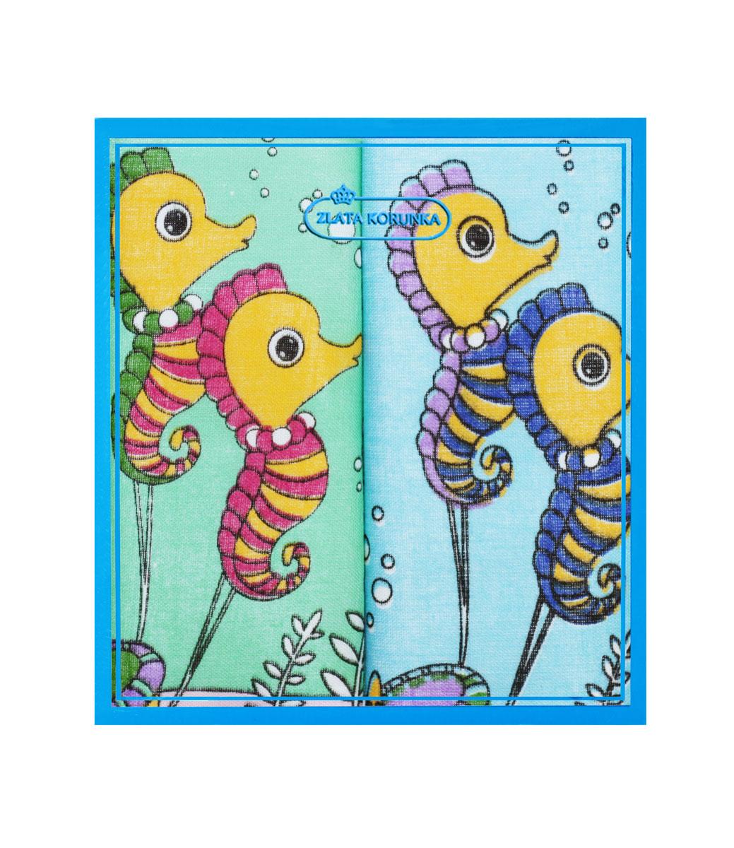 40230-33 Zlata Korunka Носовой платок детский, цвет: мультиколор, 21х21 см, 2 шт40230-33Платки носовые детские в упаковке по 2 шт. Носовые платки изготовлены из 100% хлопка, так как этот материал приятен в использовании, хорошо стирается, не садится, отлично впитывает влагу.