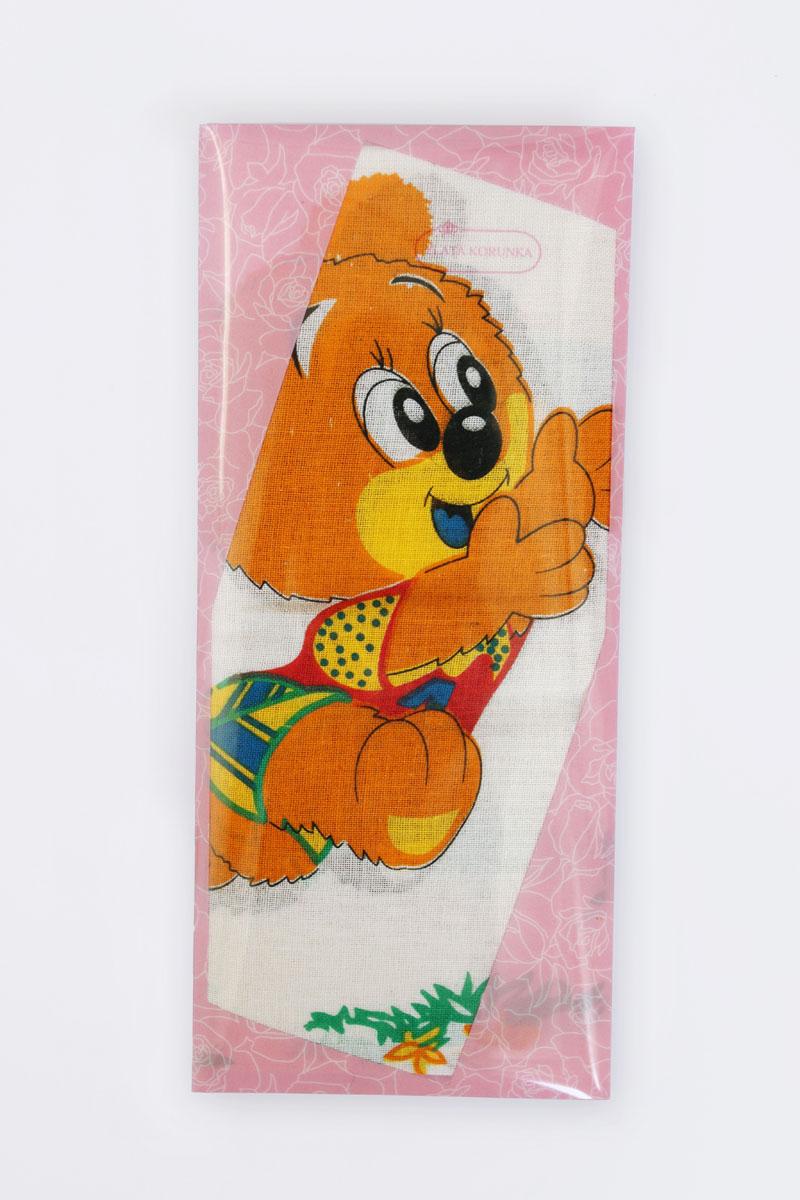 40232-6 Zlata Korunka Носовой платок детский, цвет: мультиколор, 25х25 см, 2 шт40232-6Платки носовые детские в упаковке по 2 шт. Носовые платки изготовлены из 100% хлопка, так как этот материал приятен в использовании, хорошо стирается, не садится, отлично впитывает влагу.
