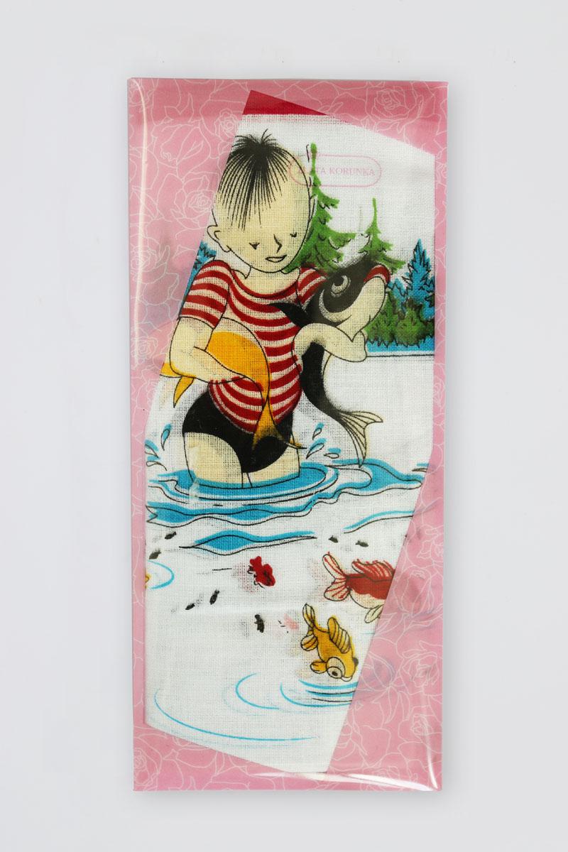 40232-7 Zlata Korunka Носовой платок детский, цвет: мультиколор, 25х25 см, 2 шт40232-7Платки носовые детские в упаковке по 2 шт. Носовые платки изготовлены из 100% хлопка, так как этот материал приятен в использовании, хорошо стирается, не садится, отлично впитывает влагу.