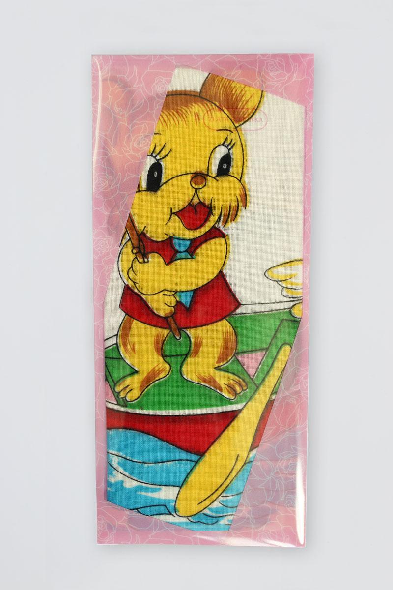 40232-8 Zlata Korunka Носовой платок детский, цвет: мультиколор, 25х25 см, 2 шт40232-8Платки носовые детские в упаковке по 2 шт. Носовые платки изготовлены из 100% хлопка, так как этот материал приятен в использовании, хорошо стирается, не садится, отлично впитывает влагу.