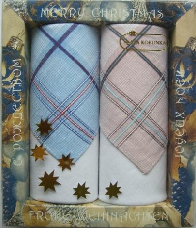 67002 Zlata Korunka Носовой платок мужской, цвет: мультиколор, 27х27 см, 2 шт67002Платки носовые мужские в упаковке по 2 шт. Носовые платки изготовлены из 100% хлопка, так как этот материал приятен в использовании, хорошо стирается, не садится, отлично впитывает влагу.