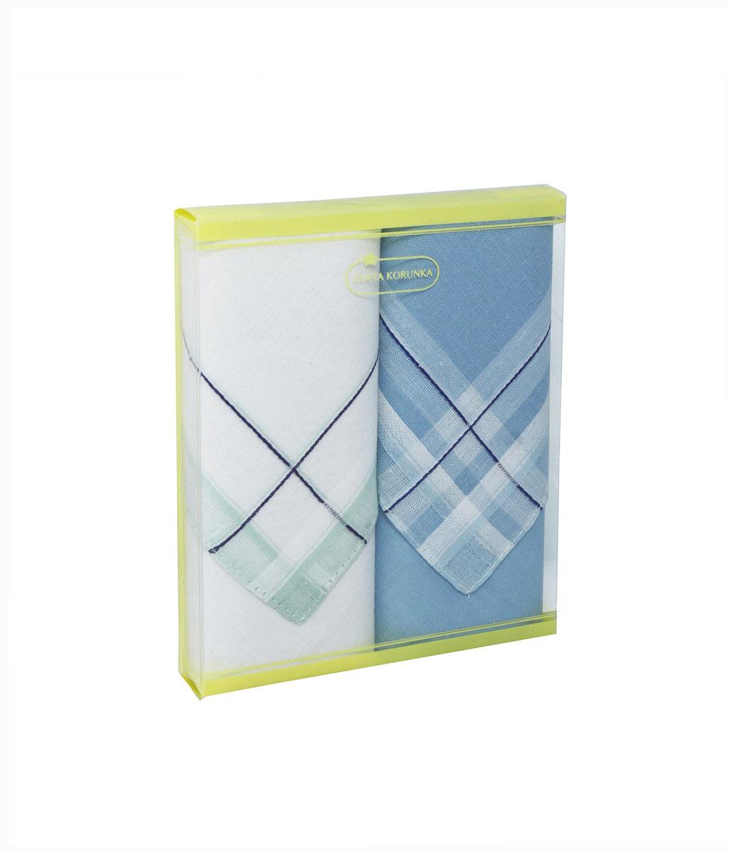 71225-6 Zlata Korunka Носовой платок женский, цвет: мультиколор, 34х34 см, 2 шт71225-6Платки носовые женские в упаковке по 2 шт. Носовые платки изготовлены из 100% хлопка, так как этот материал приятен в использовании, хорошо стирается, не садится, отлично впитывает влагу.