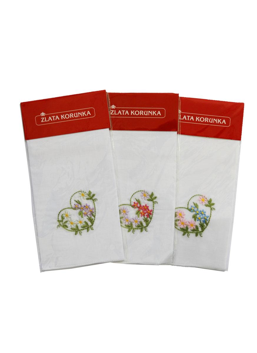 90121 Zlata Korunka Носовой платок женский, цвет: мультиколор, 27х27 см90121Платки носовые женские в упаковке по 1 шт. Носовые платки изготовлены из 100% хлопка, так как этот материал приятен в использовании, хорошо стирается, не садится, отлично впитывает влагу.