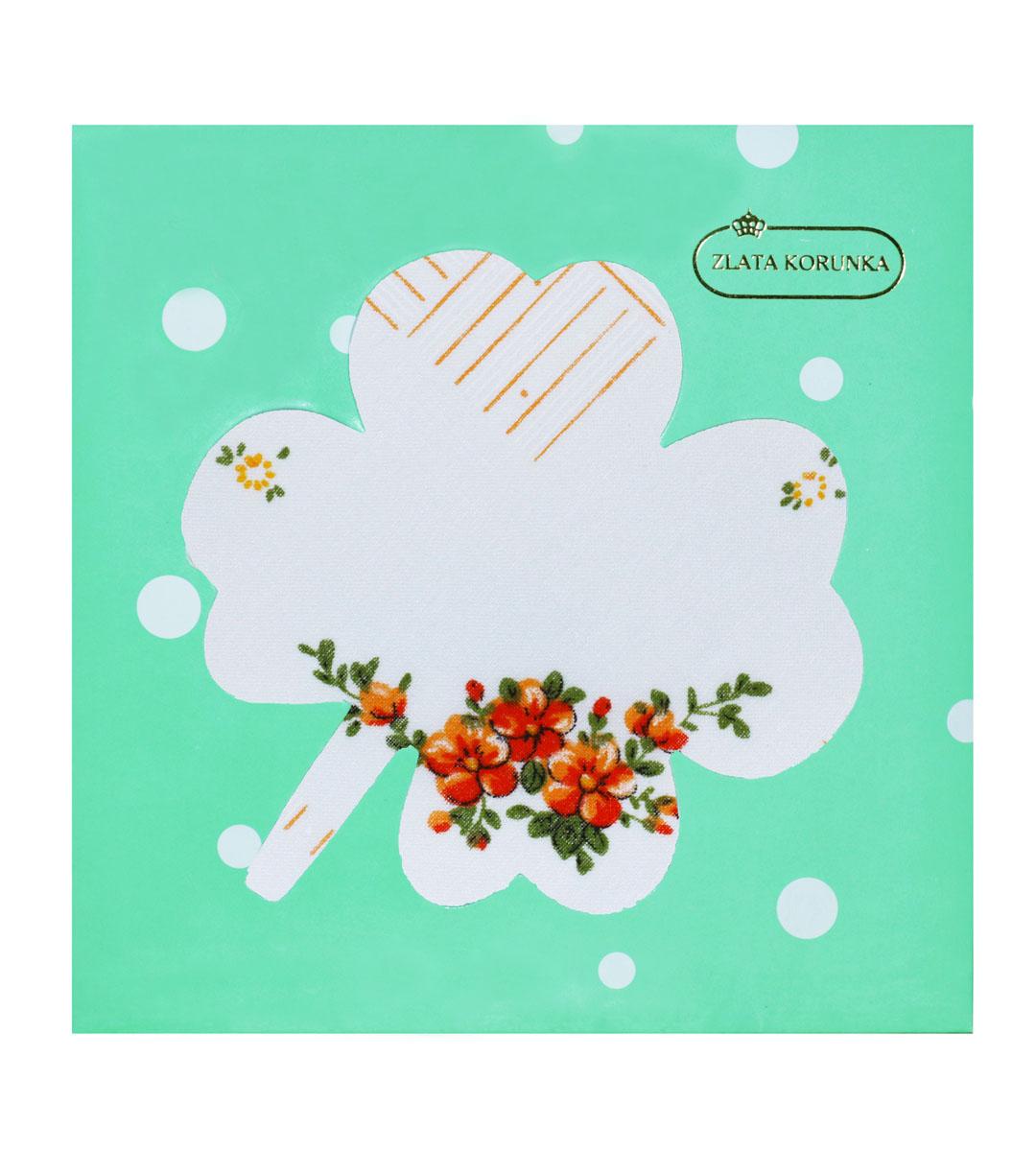 90126-18 Zlata Korunka Носовой платок женский, цвет: мультиколор, 28х28 см90126-18Платки носовые женские в упаковке по 1 шт. Носовые платки изготовлены из 100% хлопка, так как этот материал приятен в использовании, хорошо стирается, не садится, отлично впитывает влагу.