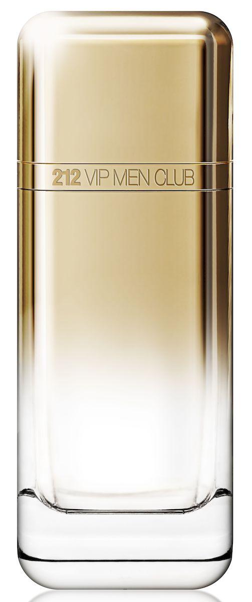 Carolina Herrera 212 VIP CLUB MEN Туалетная вода, мужская, 100 мл