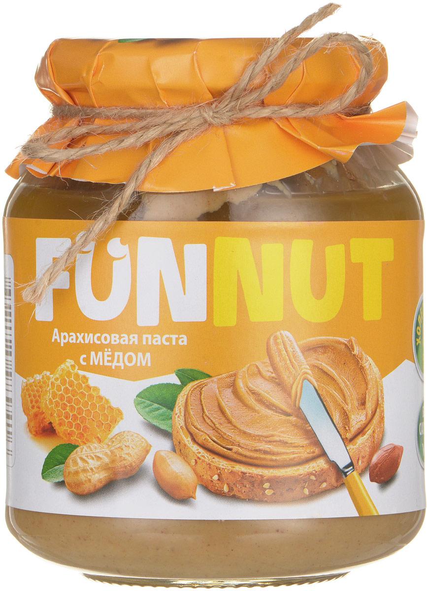 Funnut арахисовая паста с медом, 340 г