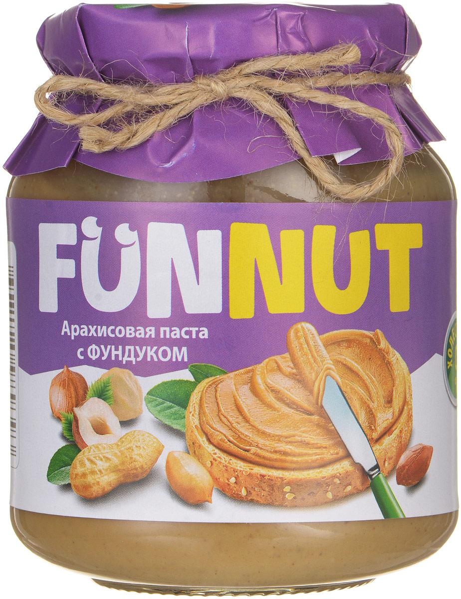 Funnut арахисовая паста с фундуком, 340 г
