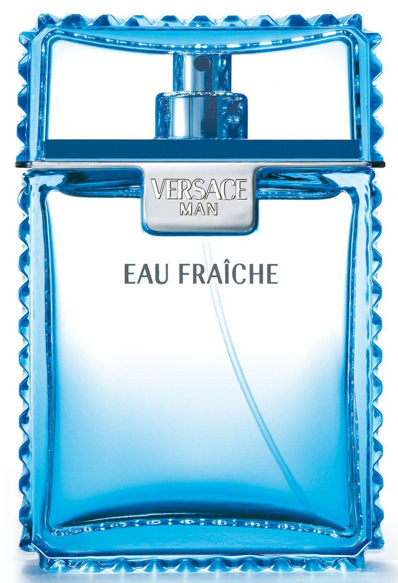 Versace Eau Fraiche Парфюмированный дезодорант спрей 100 мл500020Аромат для мужчины, который силён душой, свободен и знает, как наслаждаться жизнью, как бы выпивая её небольшими глотками! Упаковка голубого цвета под кожу крокодила необычайно элегантна и роскошна. Аромат: Искрящийся, тонизирующий, мужественный, роскошный, с притягательной аурой сильной и свободолюбивой личности .