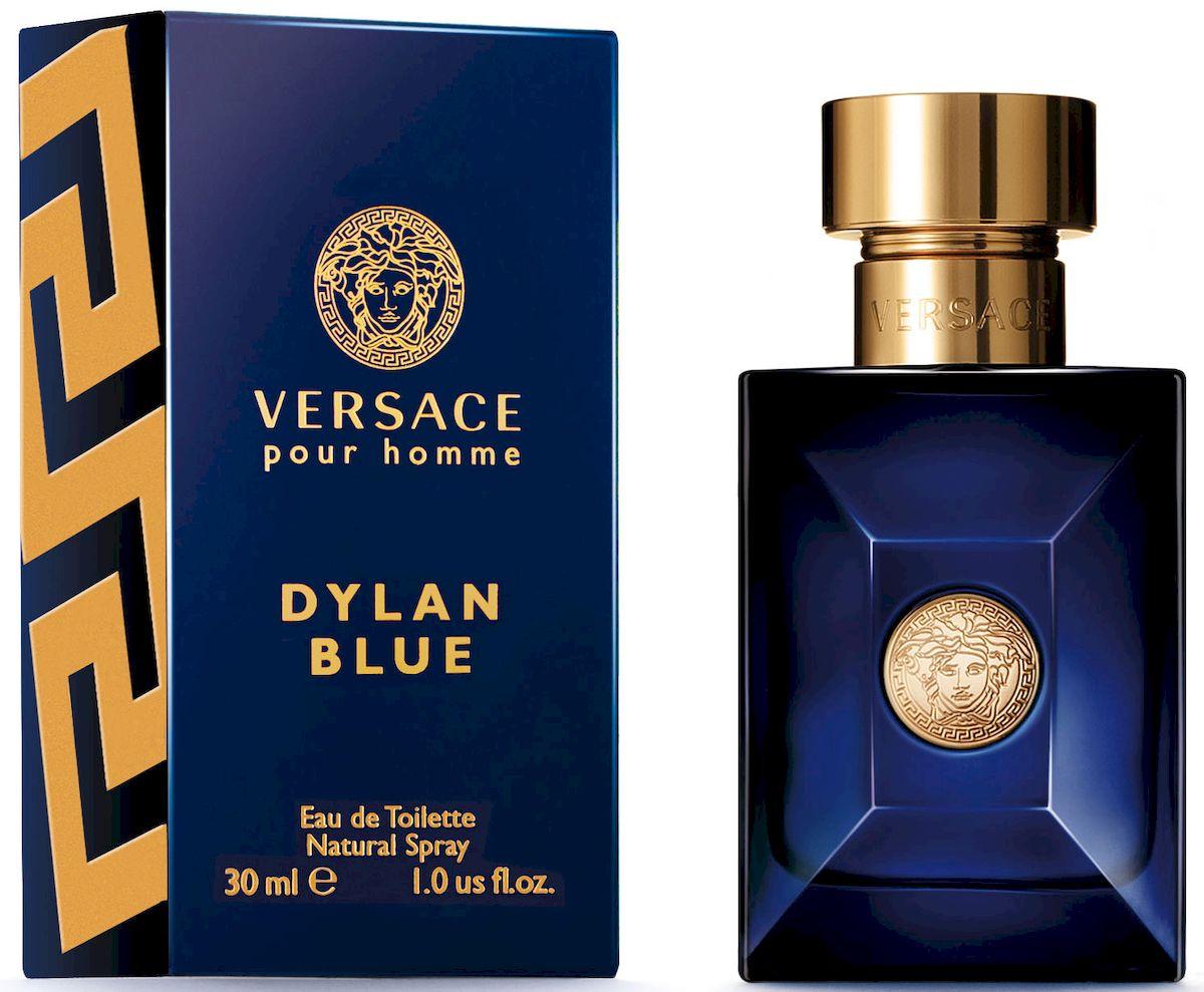 Versace Dylan Blue Туалетная вода 30 мл721007Уникальность этого фужерного аромата заключается в ярком фужерном шлейфе, неповторимом сочетании природных компонентов и синтетических молекул последнего поколения. Аромат: древесный, ароматический, фужерный.