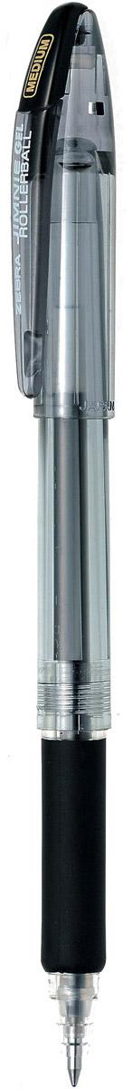 Zebra Ручка гелевая Jimnie Hyper Jell цвет черный306 218010Гелевая ручка Zebra Jimnie Hyper Jell оснащена системой двойной шарик, которая позволяет писать очень мягко и аккуратно, до последней капли чернил. Второй шарик в никелированном наконечнике стержня контролирует поступление чернил. Чернила не расплываются под водой и не теряют яркости со временем.