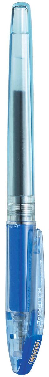 Zebra Ручка гелевая Jimnie Hyper Jell цвет синий306 218020Гелевая ручка Zebra Jimnie Hyper Jell оснащена системой двойной шарик, которая позволяет писать очень мягко и аккуратно, до последней капли чернил. Второй шарик в никелированном наконечнике стержня контролирует поступление чернил. Чернила не расплываются под водой и не теряют яркости со временем.