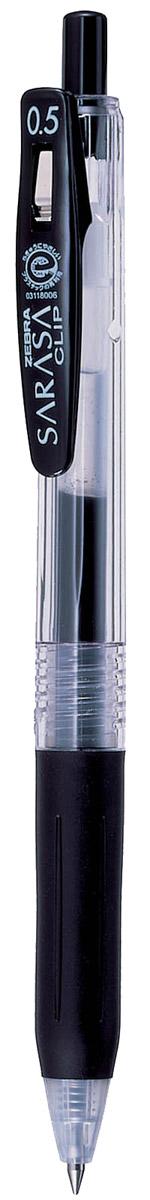 Zebra Ручка гелевая Sarasa Clip черная