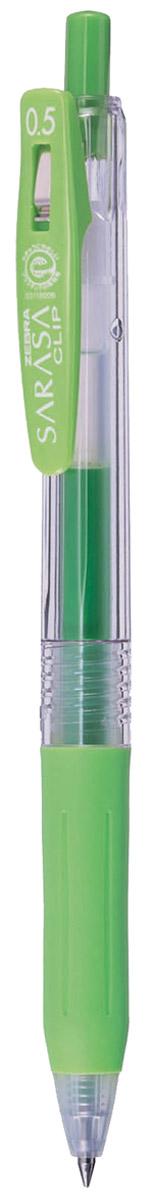 Zebra Ручка гелевая Sarasa Clip светло-зеленая