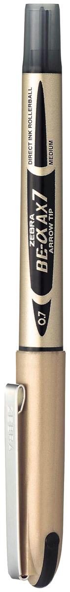 Zebra Ручка-роллер ZEB-ROLLER BE-& AX7 черная