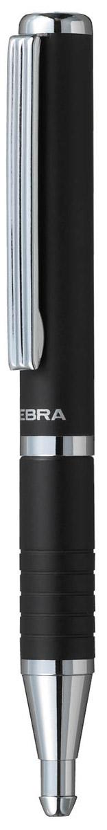 Zebra Ручка шариковая Slide цвет корпуса черный305 072010Шариковая ручка Zebra Slide идеально подходит для записных книжек и органайзеров. В рабочем состоянии ручка раздвигается, приобретая длину обычной ручки, в закрытом виде очень компактна. Строгий стильный дизайн понравится всем любителям классики.